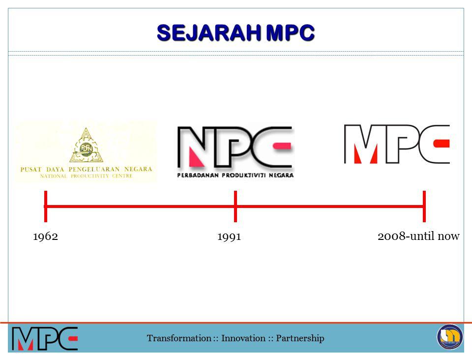SEJARAH MPC 1962 1991 2008-until now