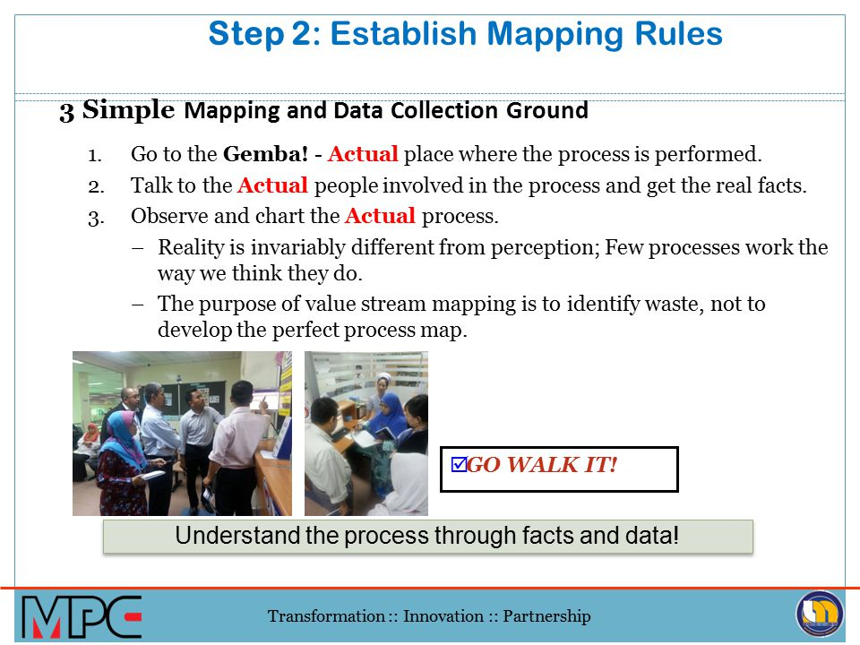 Step 2: Establish Mapping Rules