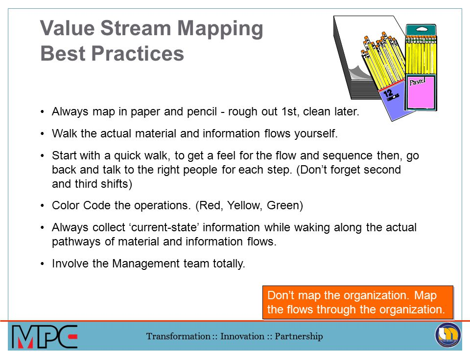 Value Stream Mapping Best Practices