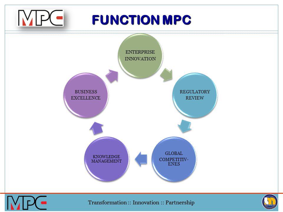 FUNCTION MPC ENTERPRISE INNOVATION REGULATORY REVIEW GLOBAL