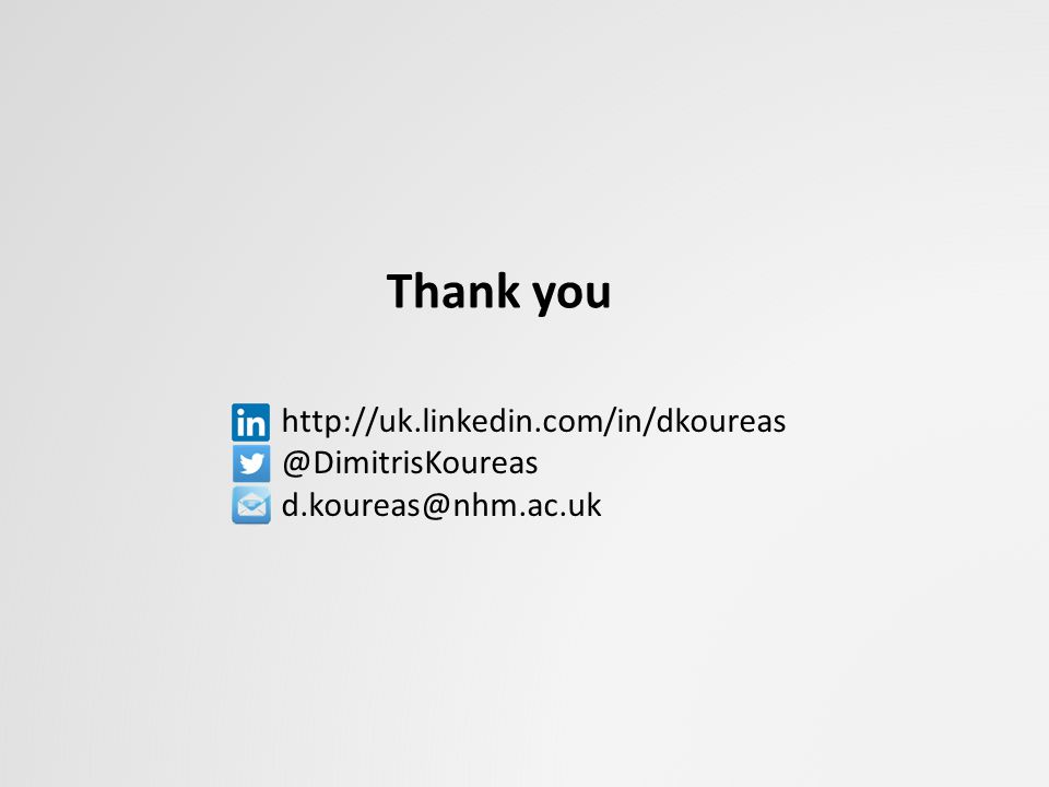 Thank you http://uk.linkedin.com/in/dkoureas @DimitrisKoureas