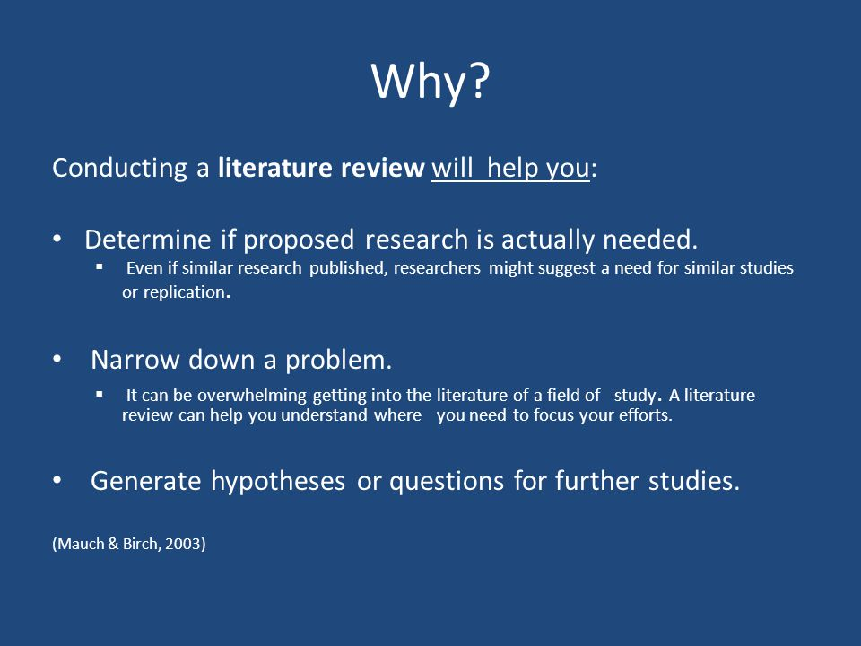 code of conduct literature review Writing a literature review is often the most daunting part search for the literature: conduct a comprehensive bibliographic search of code the literature:.