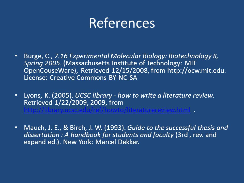 thesis guideline The office of graduate studies' dissertation and thesis guidelines provide a comprehensive list of all materials that must be included when you submit your dissertation or thesis, and how to format your dissertation or thesis.