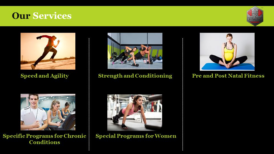 Our Services Speed and Agility Strength and Conditioning
