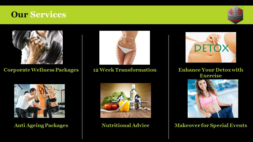 Our Services Corporate Wellness Packages 12 Week Transformation