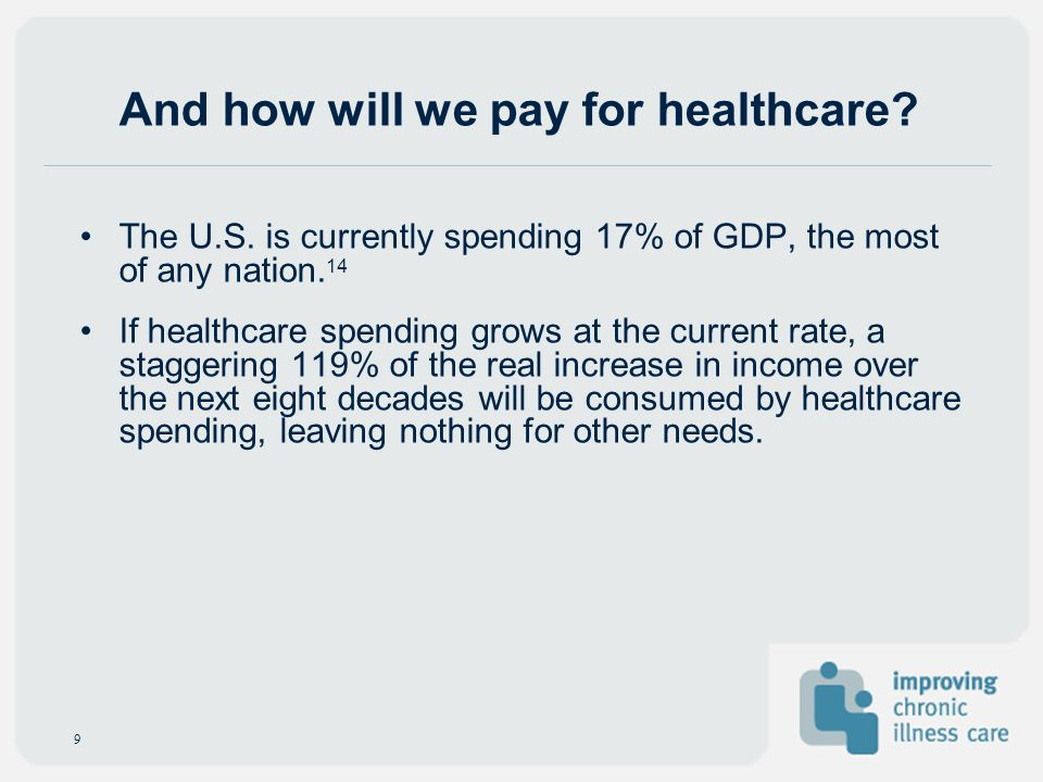 And how will we pay for healthcare