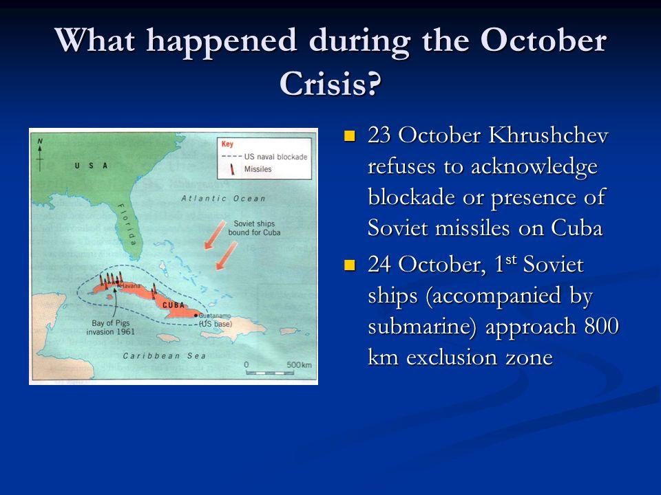 What happened during the October Crisis