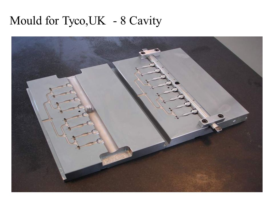 Mould for Tyco,UK - 8 Cavity