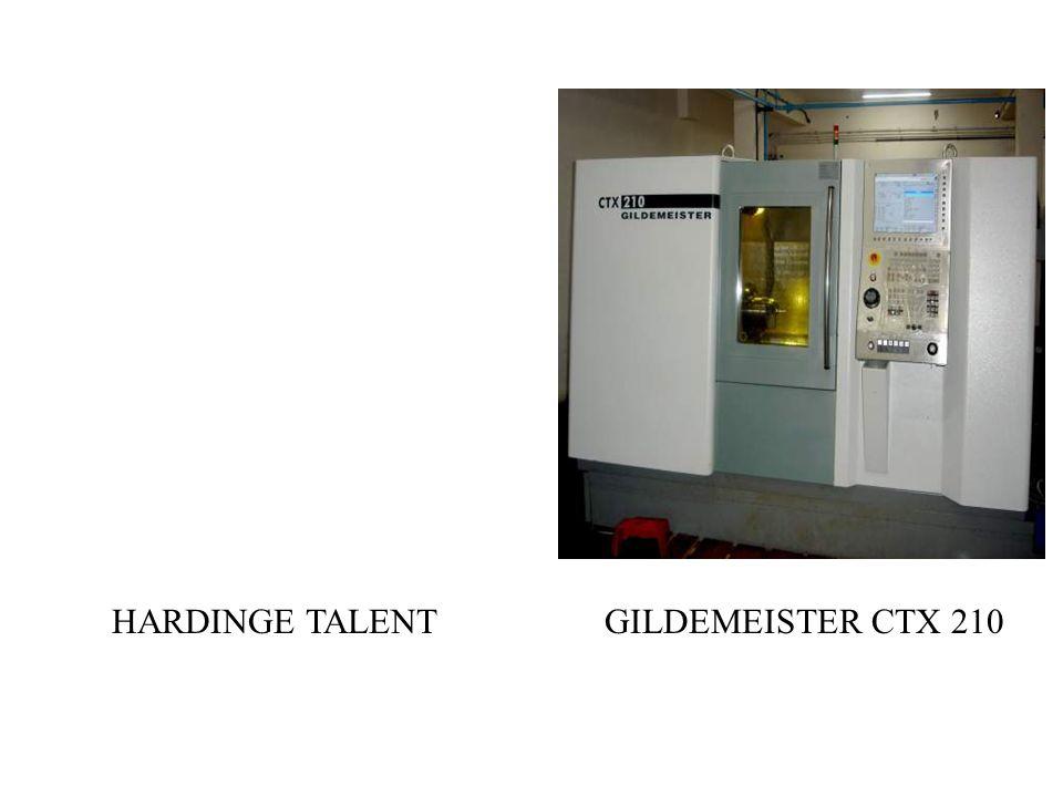 HARDINGE TALENT GILDEMEISTER CTX 210