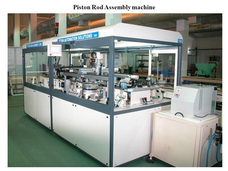 Piston Rod Assembly machine