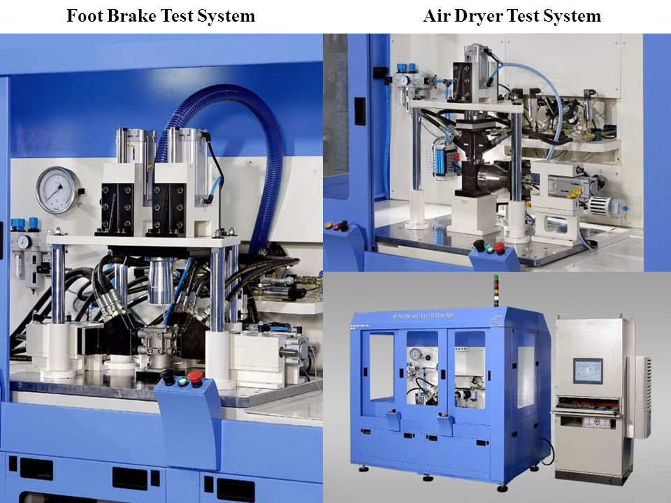 Air Dryer Test System Foot Brake Test System