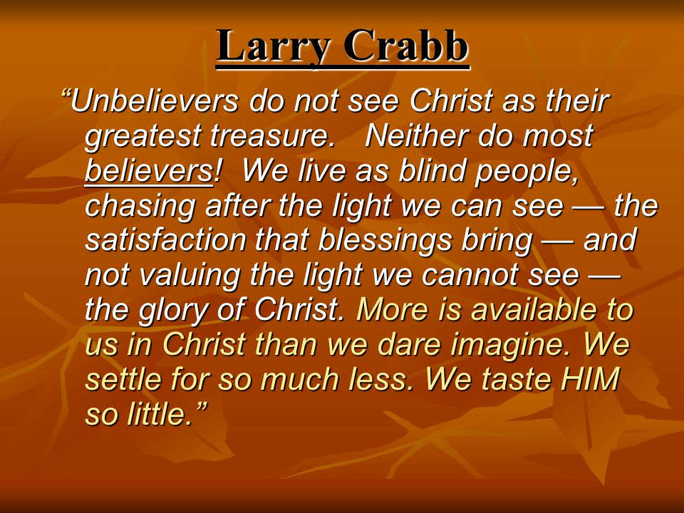 Larry Crabb