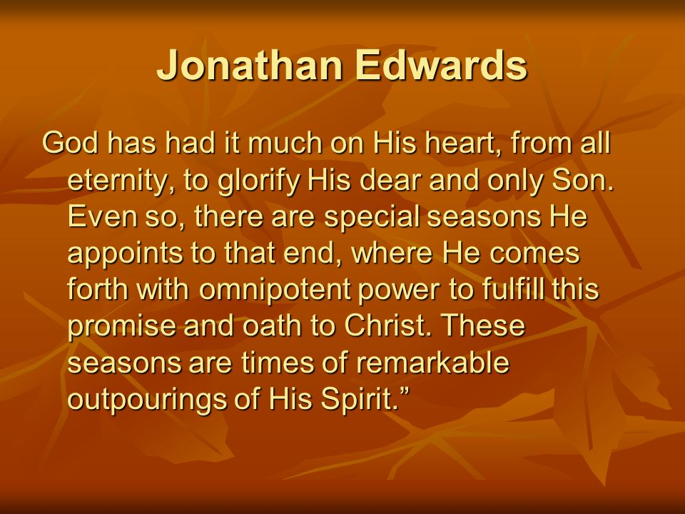 Jonathan Edwards