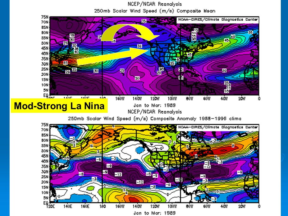 Mod-Strong La Nina