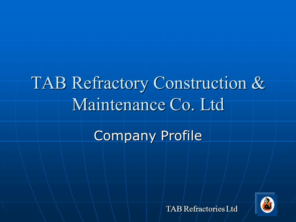 TAB Refractory Construction & Maintenance Co. Ltd