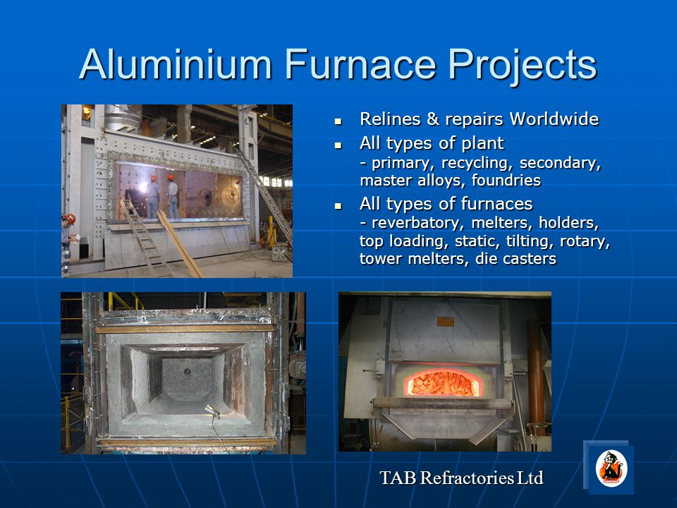 Aluminium Furnace Projects