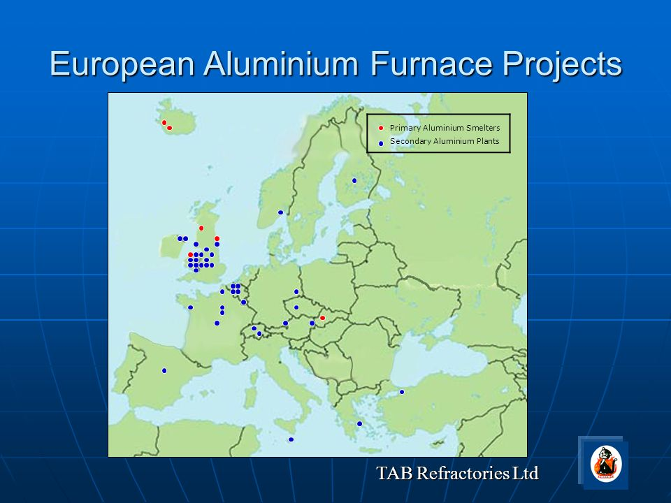 European Aluminium Furnace Projects
