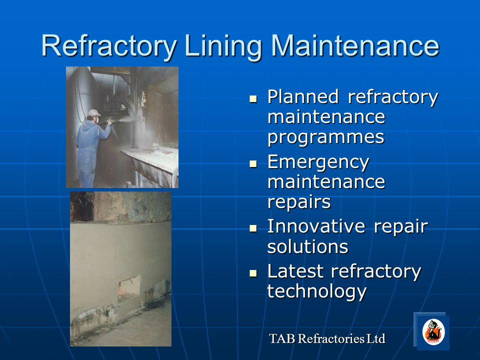 Refractory Lining Maintenance
