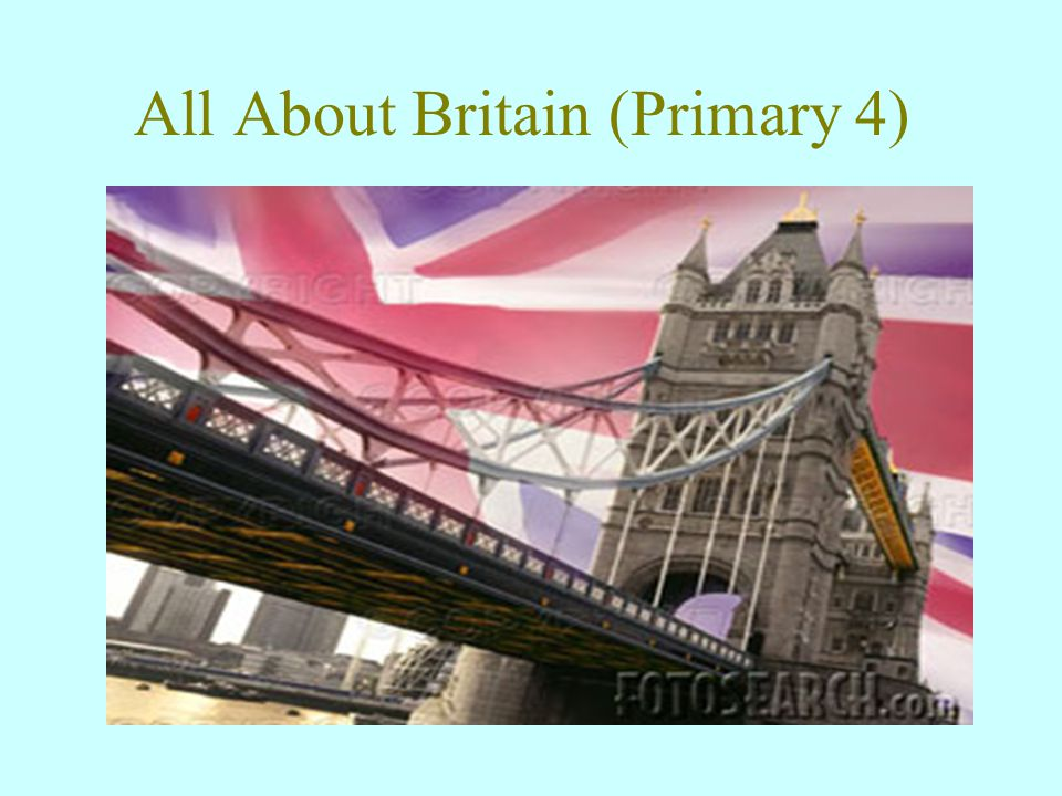 All About Britain (Primary 4)