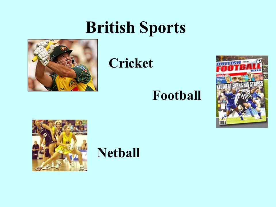 British Sports Cricket.
