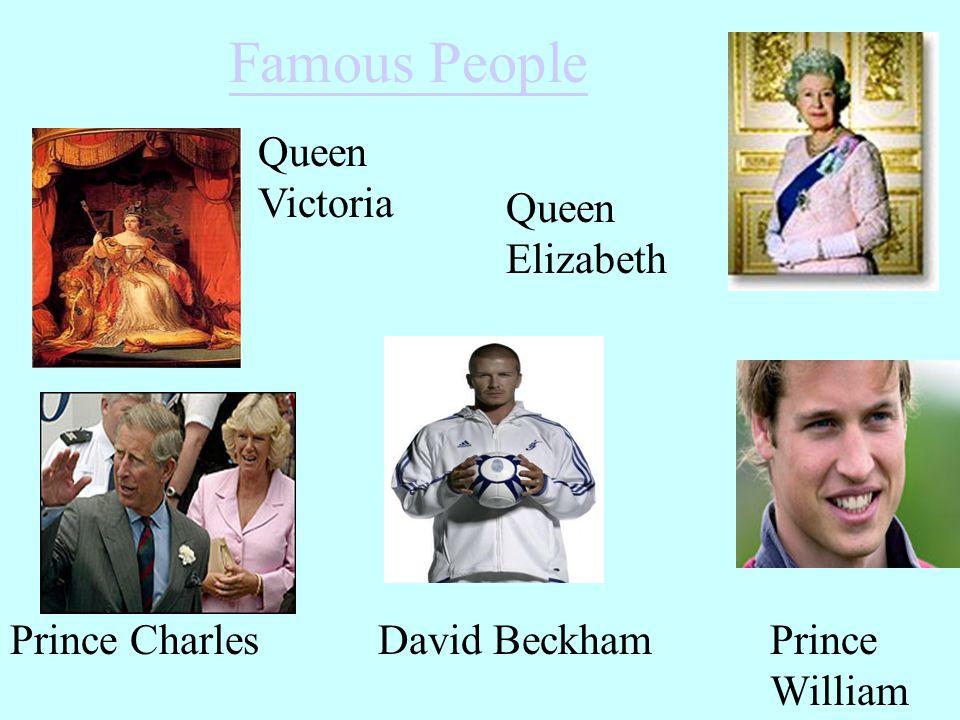 Famous People Queen Victoria Queen Elizabeth Prince Charles