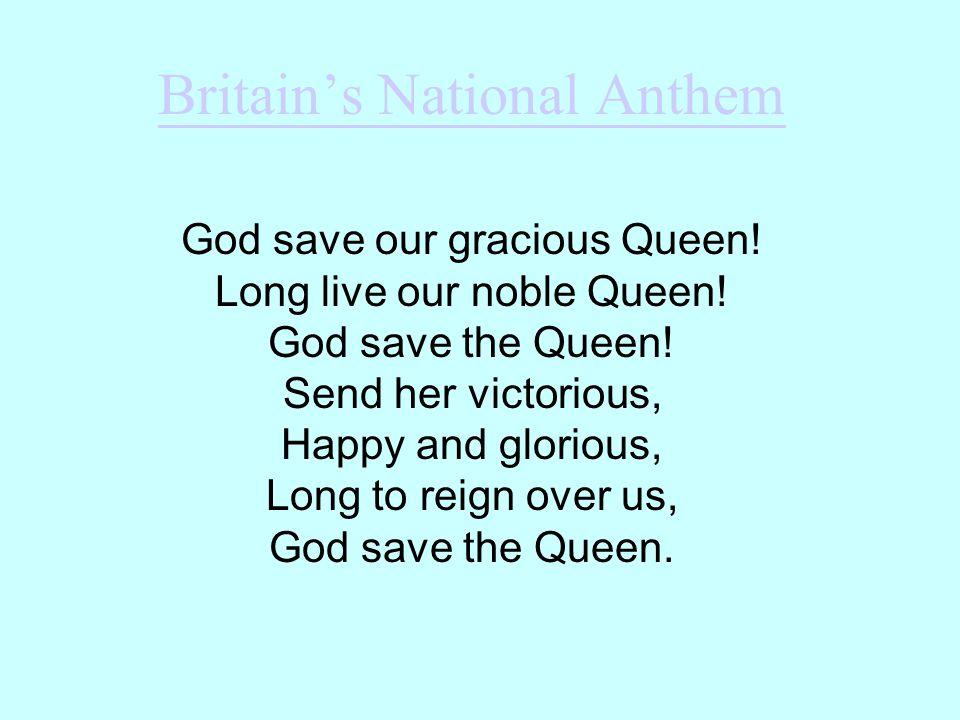 Britain's National Anthem