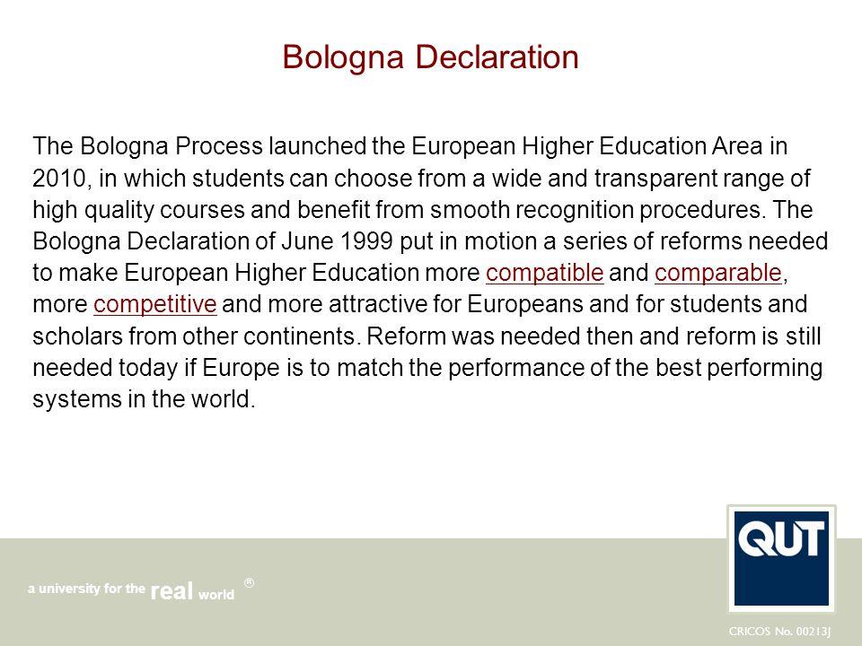 Bologna Declaration
