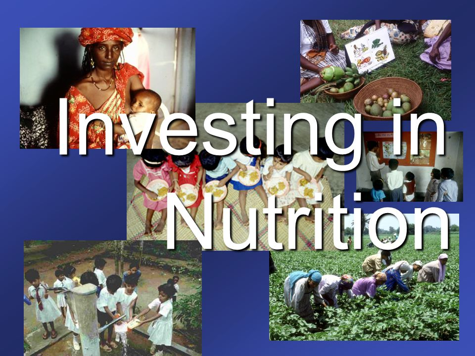 Investing in Nutrition