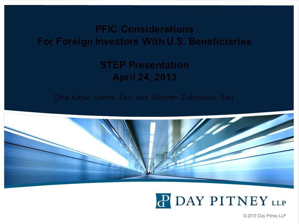 PFIC Considerations For Foreign Investors With U. S