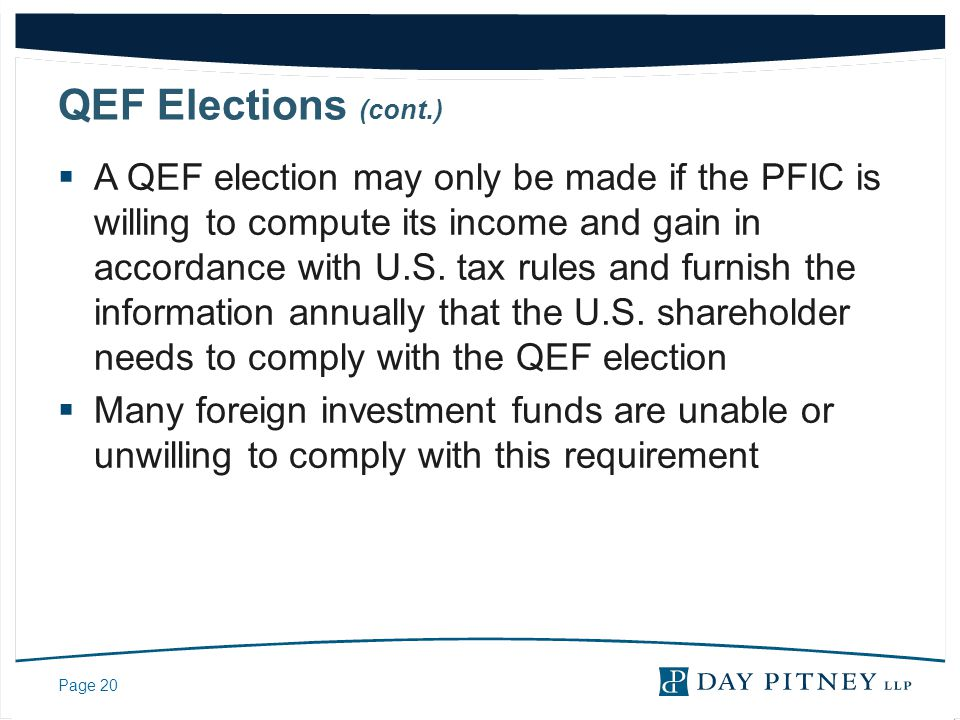QEF Elections (cont.)