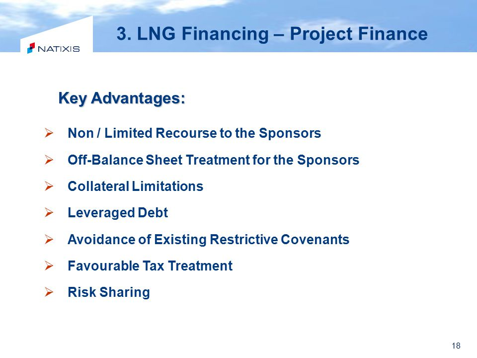 3. LNG Financing – Project Finance