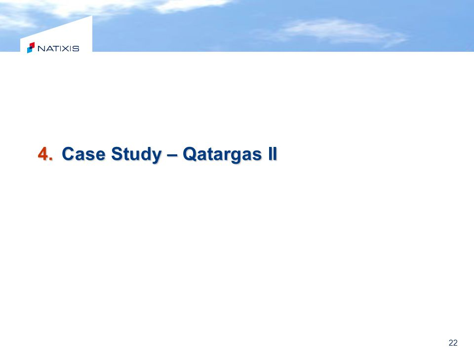 Case Study – Qatargas II