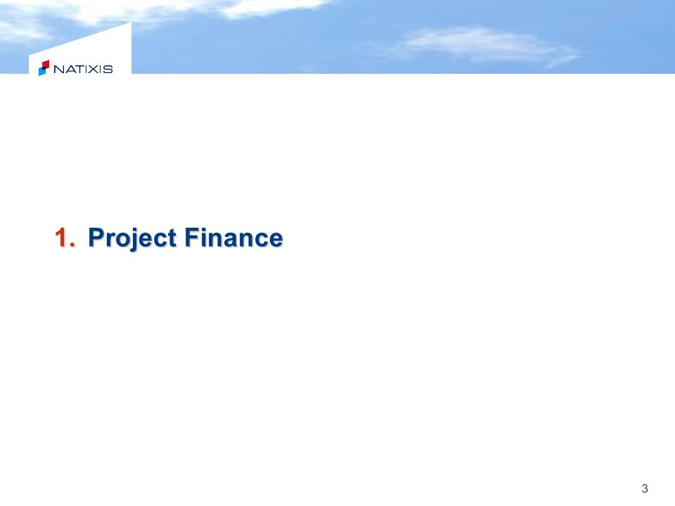 Natural Gas Equity Debt Project Finance