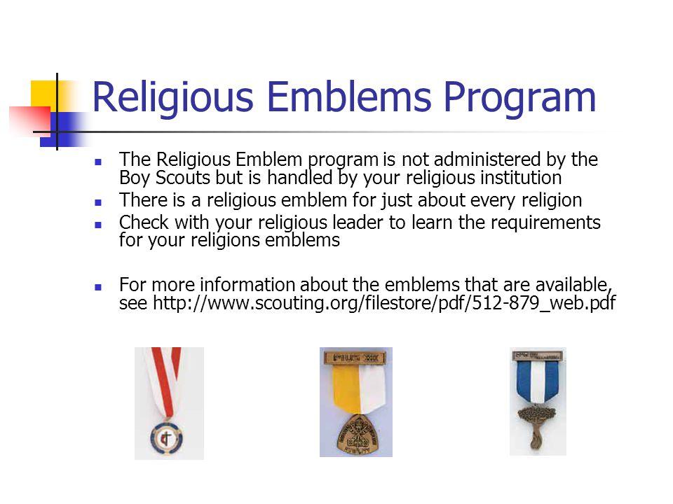 Religious Emblems Program