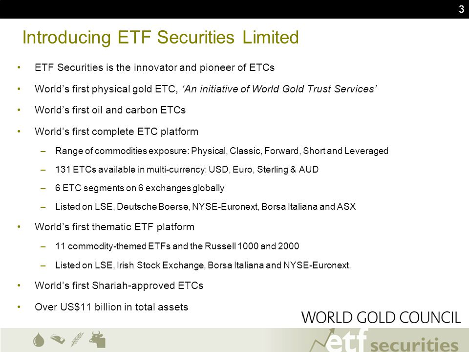 Introducing ETF Securities Limited