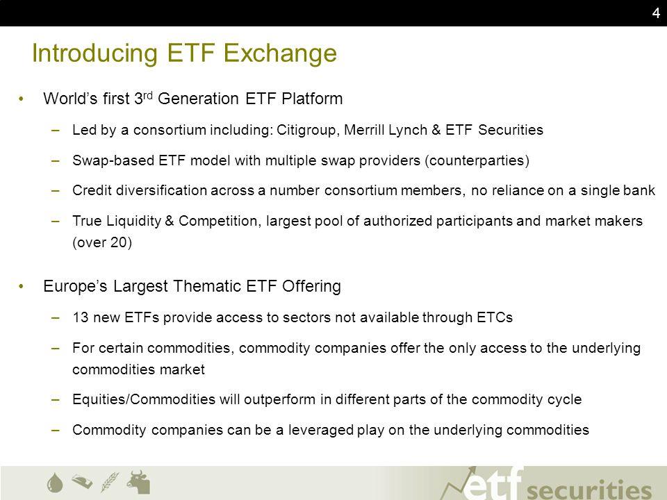 Introducing ETF Exchange