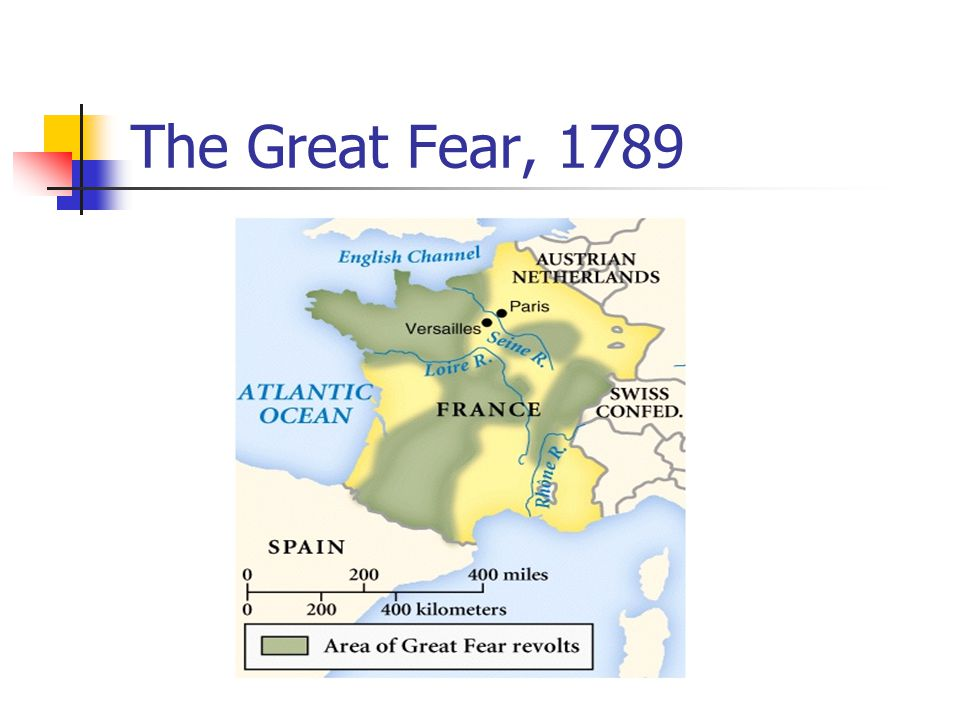 The Great Fear, 1789