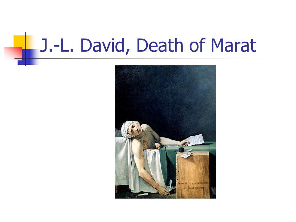 J.-L. David, Death of Marat