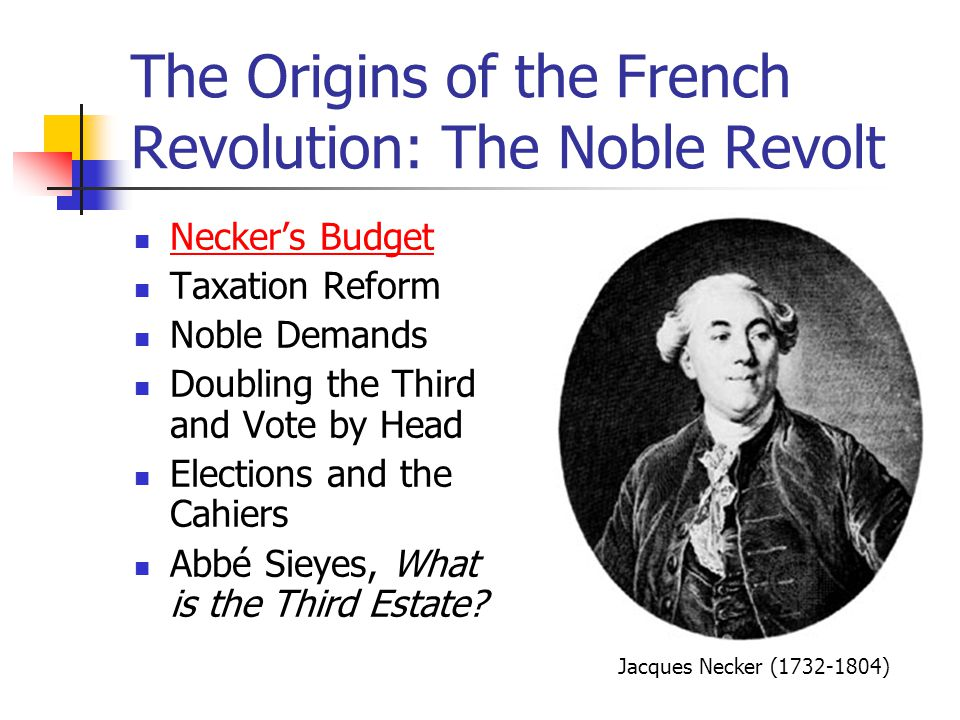 The Origins of the French Revolution: The Noble Revolt