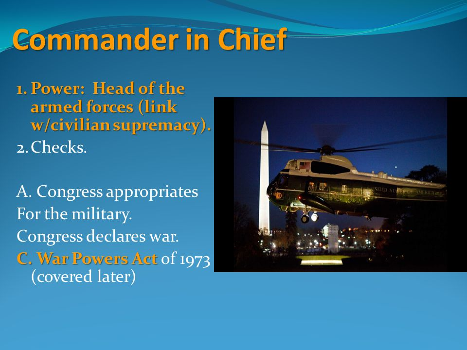 Commander in Chief