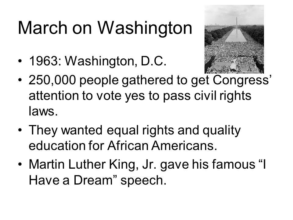 March on Washington 1963: Washington, D.C.