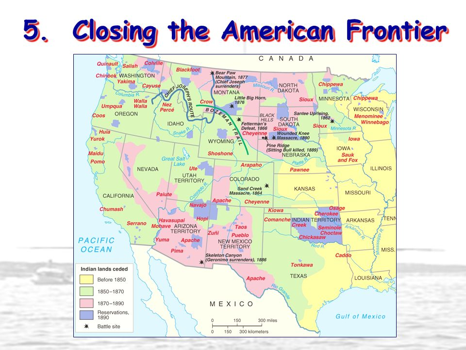 5. Closing the American Frontier