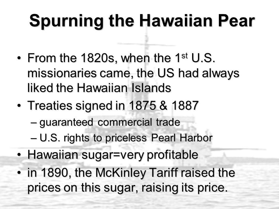 Spurning the Hawaiian Pear