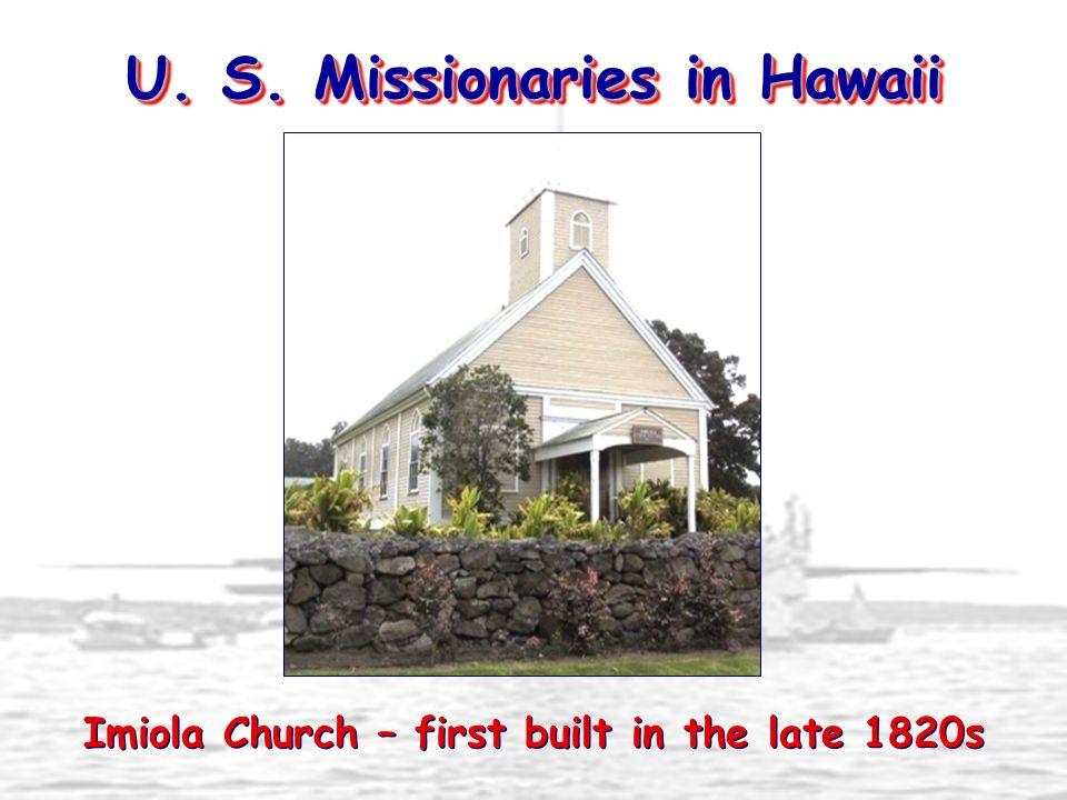 U. S. Missionaries in Hawaii