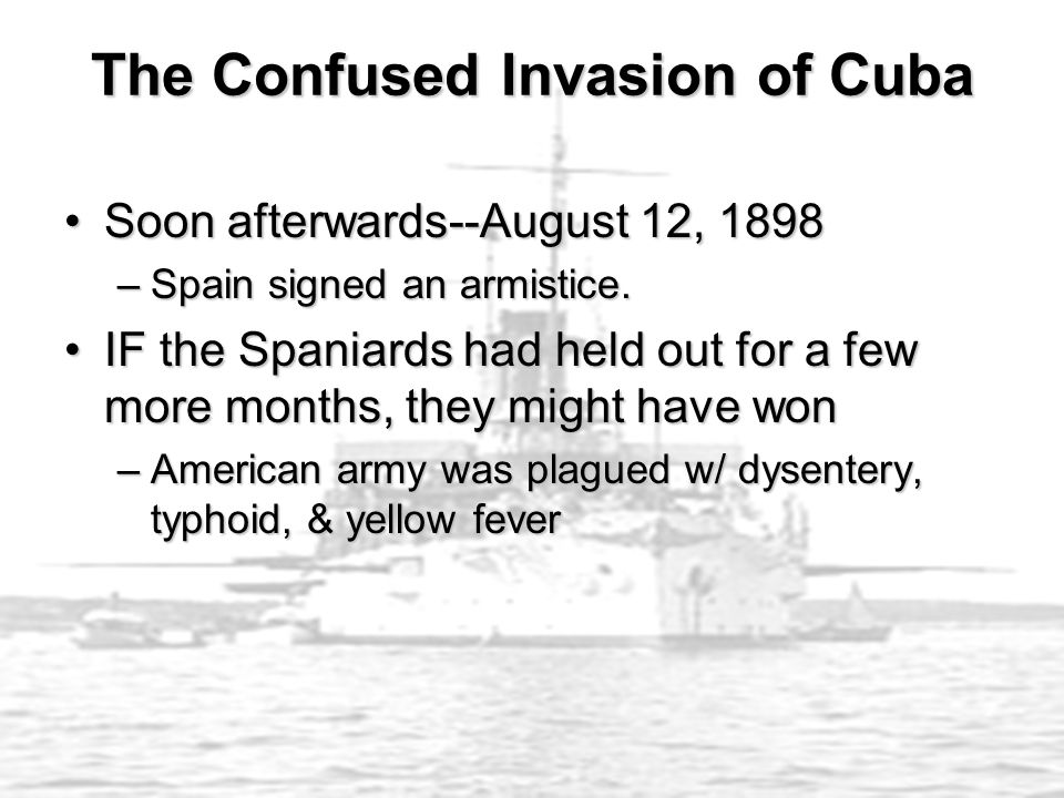 The Confused Invasion of Cuba