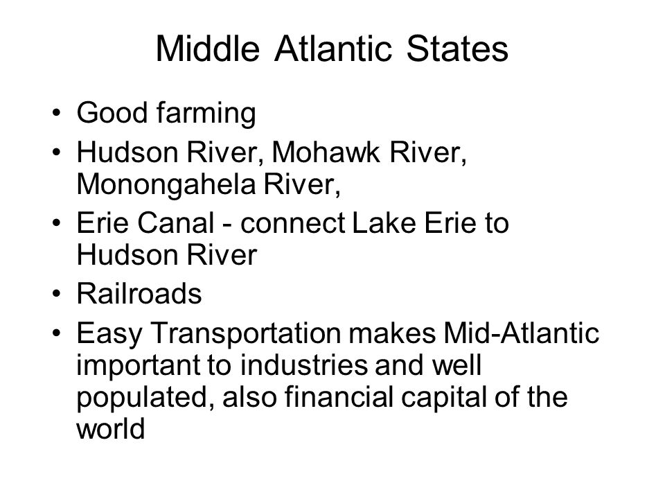 Middle Atlantic States