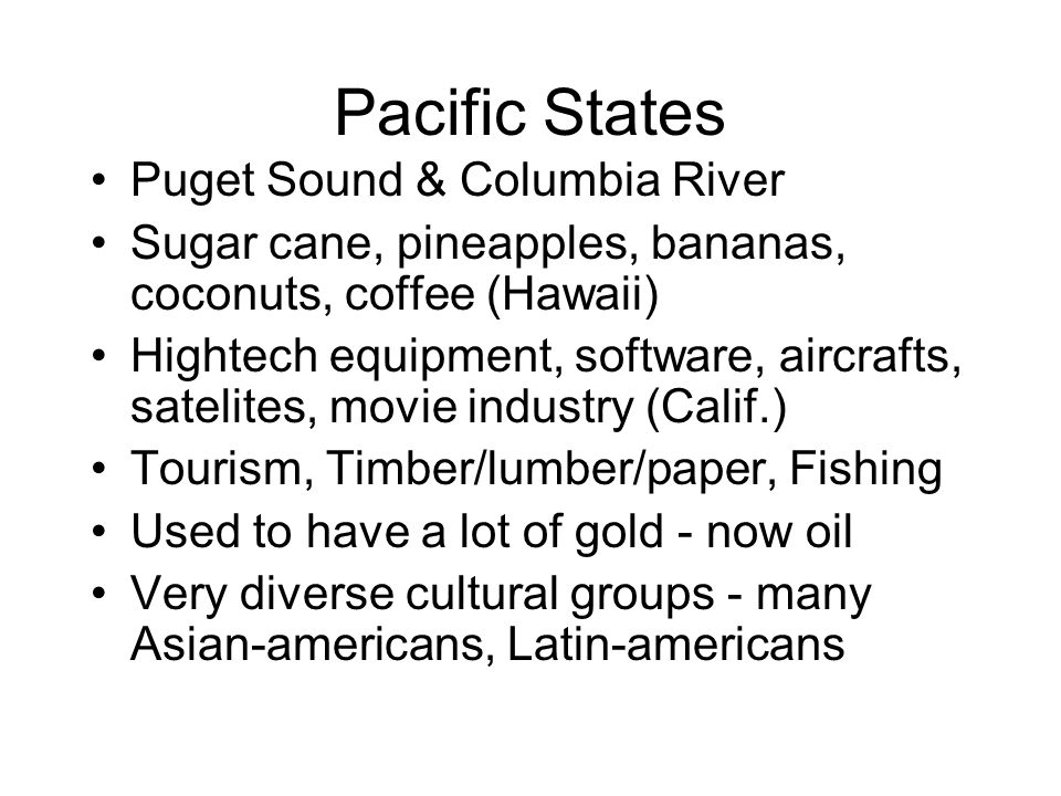 Pacific States Puget Sound & Columbia River