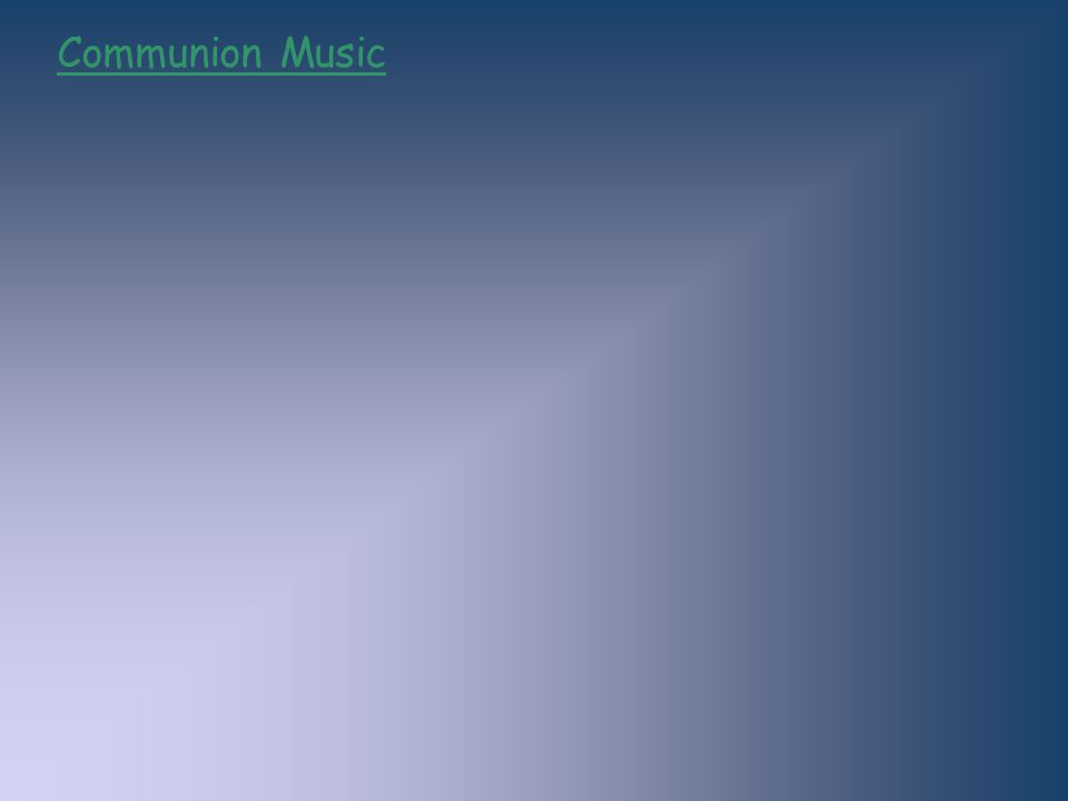 Communion Music