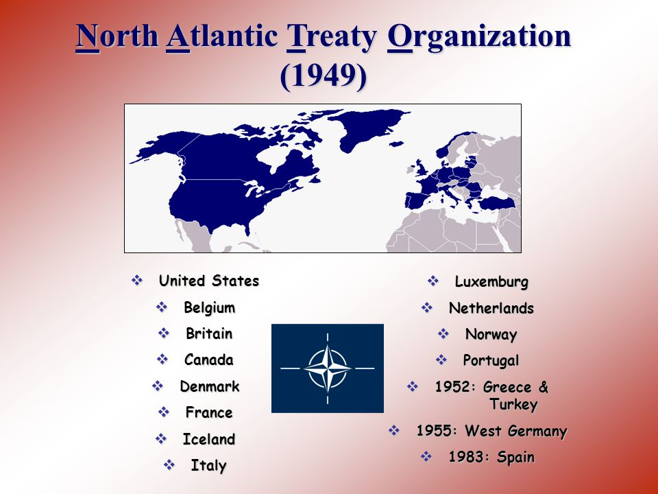 the history of the north atlantic treaty organization The north atlantic council (nac) consists of all nato member states and has  effective political authority  north atlantic treaty organization – official website .
