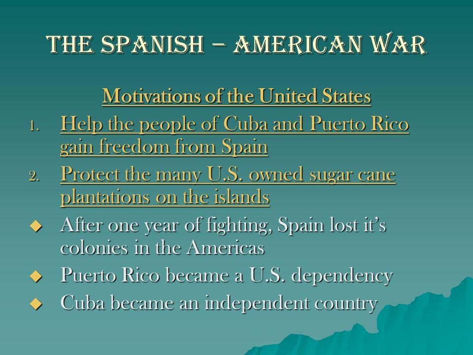 The Spanish – American War